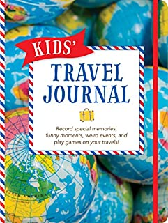 Kids' Travel Journal (Vacation Diary, Trip Notebook) (1441318143) | Amazon Products