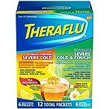 TheraFlu Multi-Symptom with Lipton Flavors & Nighttime Severe Cold & Cough, 12 Count