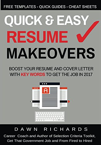 Quick Easy Resume Makeovers Boost Your And Cover Letter With Key Words To