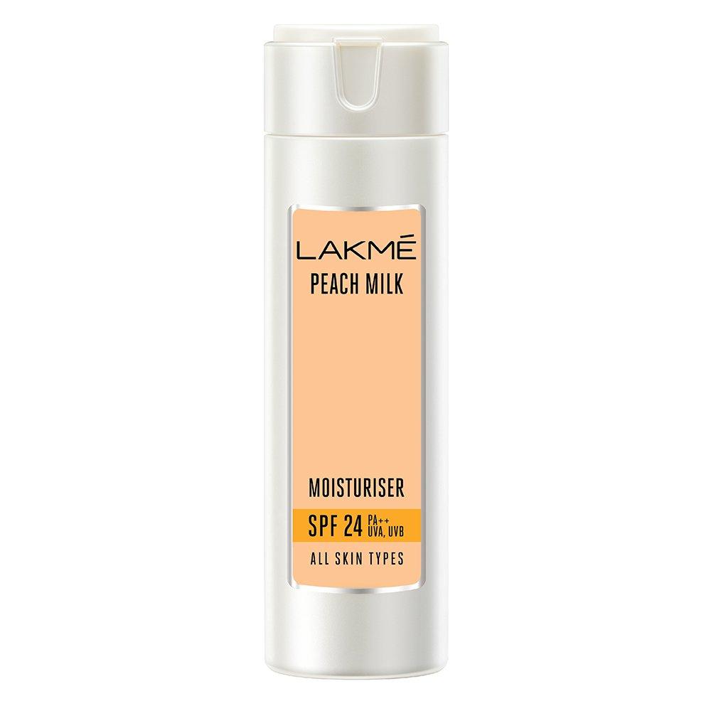 Lakme Peach Milk Moisturizer SPF 24 PA Sunscreen Lotion, 120ml product image