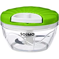Amazon Brand - Solimo 500 ml Large Vegetable Chopper with 3 Blades
