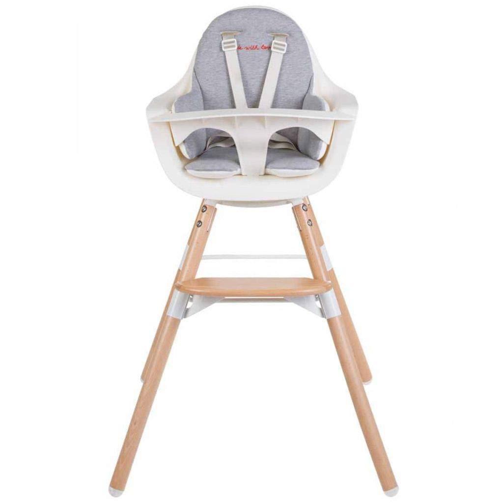 Coussin de chaise Evolu 2 et Evolu ONE.80/° Blanc /à pois or Child Wood