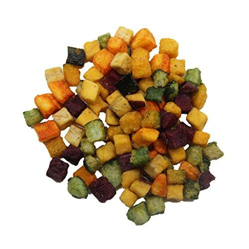 Truly Good Foods Veggie Cubes - 1lb bag | Vegetable Snacks | Sweet Potato, Squash, Taro, Cucumber, Purple Sweet Potato]()