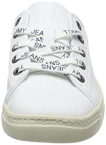 Low Light para Blanco Jeans Tommy Mujer Zapatillas Textile 100 White 4ZRnOUWSq