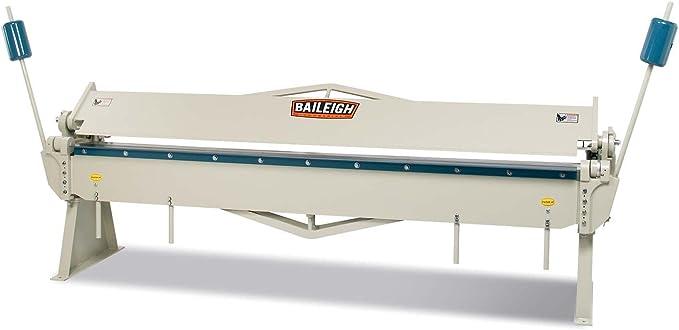 16-Gauge Mild Steel Capacity Baileigh HB-4816 Manual Straight ...