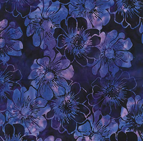 - Hoffman Bali Batik Bali Handpaints Graphic Floral Vegas