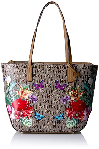 Nine West Reana Tote, Khaki-Brown/Dark Camel