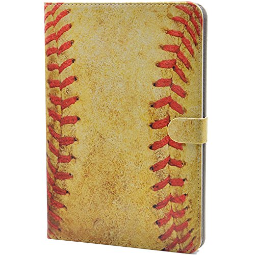 Price comparison product image Baseball Ball Vintage Pattern Leather Flip Slim Book Shell Stand Case Cover for Apple ipad mini 1 2 3