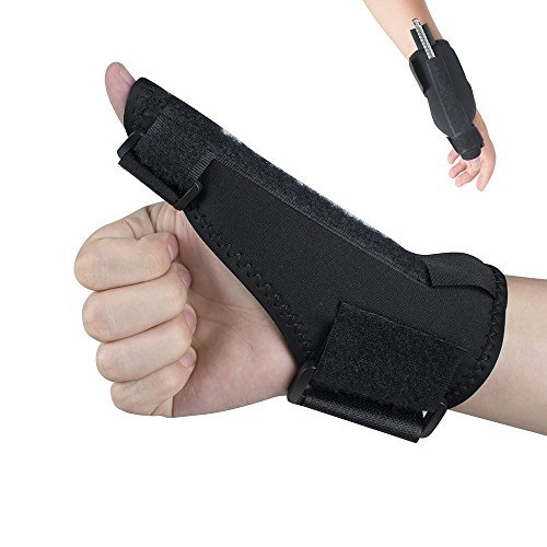 Zinnor Thumb Splint Finger Splint Trigger Thumb Brace for Arthritis Pain Relief Sprained,Tendonitis Joint Thumb Stabilizer