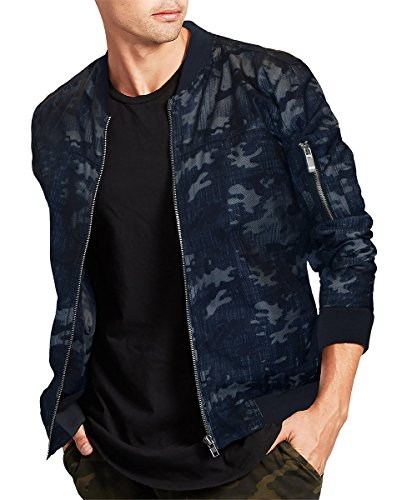 unique design save off hot-selling latest Galleon - FRIED DENIM Men's Premium Multi Style Bomber ...
