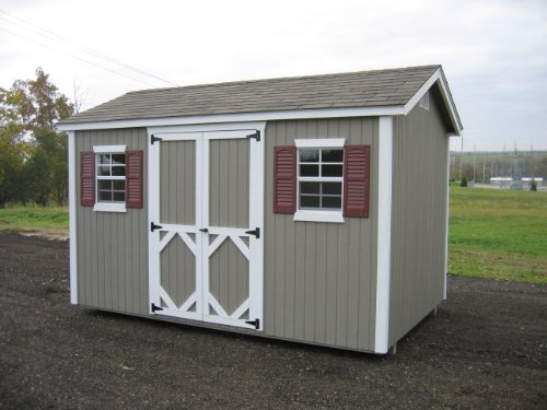 Little Cottage Company Classic Workshop 8'x12′ DIY Shed Kit
