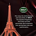 Brut Deodorant for Men, Attraction, Authentic Fragrance, Long Lasting Deo with Sensual Woody Fragrance, 200 ml