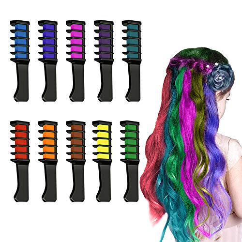 Dreamingbox Toys for 3-15 Year Old Girls Teen, Hair Chalk for Girls Popular Xmas Gifts for Girls 3-15 Year Old Temporary Color Kids Makeup Kit for Age 3-15 Girl Stocking Stuffers TGUSRF
