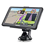 GPS Navigation for Car, AWESAFE 7 inch Capacitive Touch Screen Car GPS Navigation