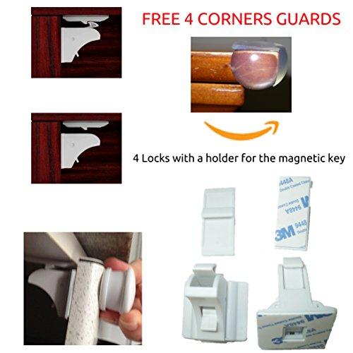 Hot Sale Baby Magnetic Cabinet Locks Child Safety Drawer Locks 1