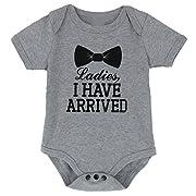 A&J Design Baby Boys' Funny Gentleman Bodysuit (0-3 Months)