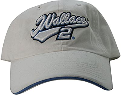 """NASCAR Rusty Wallace """"Vintage Series"""" Women's Adjustable Racing Hat Cap from Chase Authentics"""