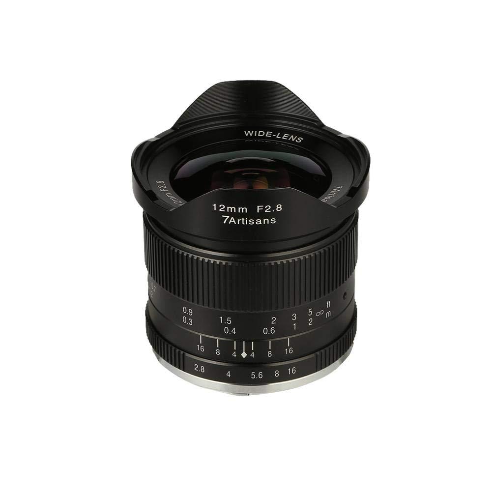 casualcatch 7artisans E-mount/Canon 12mm/f2.8 B07GR2DFSF 超広角レンズ SONY E-mount/Canon EOS-M 12mm/f2.8/Mount A6000,A6300,A6500,A7カメラ対応 B07GR2DFSF, ラグマート:e4f052fd --- ijpba.info
