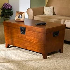 Trunk Coffee Table With Lift Top Tables Convenience Concepts Set Living Room