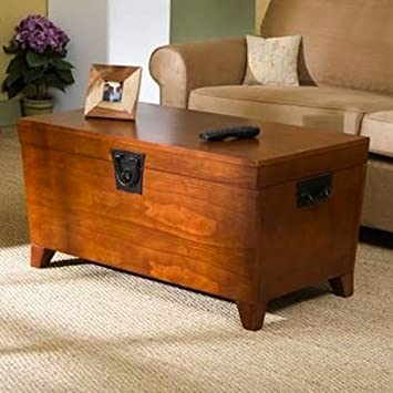 Trunk Coffee Table With Lift Top   Tables Convenience Concepts Set Living  Room Office Furniture