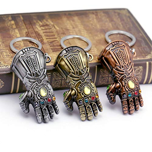 PAPEO Keychain 1.5-2 inch Hot Zinc Action Figure Small Figures Toys Mini Model Keyring Pendant Gifts Christmas Halloween Birthday Gift Movie Collectible for Kids -