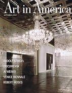Art in America (September 2007, No. 8) by…