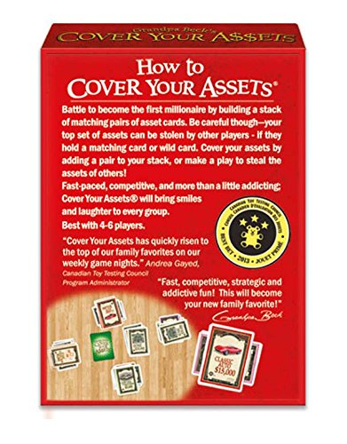 Grandpa Beck's Cover Your Assets Card Game