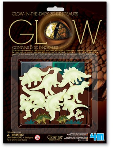 4M Glow 3D Dinosaur - Glow In The Dark Dinosaur