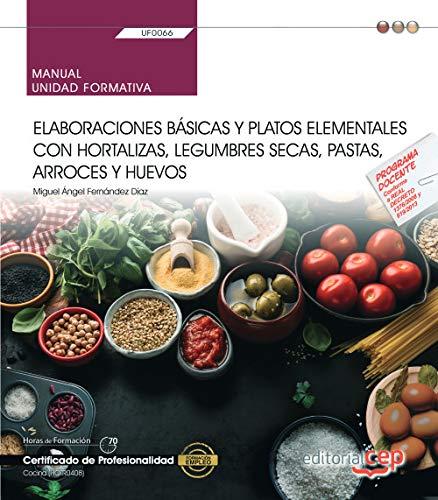 Manual. Elaboraciones básicas y platos