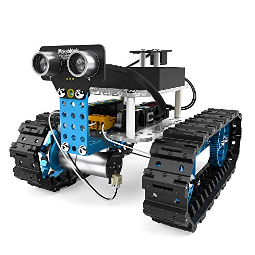 Makeblock Starter Robot Kit, DIY 2 in 1 Advanced Mechanical Building Block, STEM Education to Learn Robotics, Electronics and Coding. (Bluetooth Version).