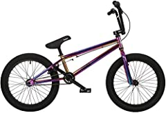 "Key Features of the Framed Attack Pro BMX Bike: Frame - Chromoly Triangle. Forks - 1-1/8Th Chromoly Legs. Bars - Framed 2Pc Chromoly Bars (8 3/4"" Tall X 29"" Wide). Grips - Velo Mean Mug 147mm. Stem - Framed Alloy Front Load. Headset - Neco 28..."