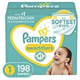 Baby Diapers Newborn/Size 1 (8-14 lb), 198 Count
