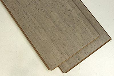 Warm your Home with cork flooring - Forna Gray Bamboo Cork Flooring Samples