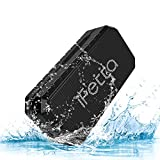 Ifecco Bluetooth Wireless Speaker, IPX6 Waterproof Portable Wireless Speaker, Mp3 Speaker with Build-in Microphone Support TF Card FM AUX Mode for Bluetooth Enabled Device