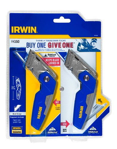 IRWIN Tools Folding Utility Knife (1874804)