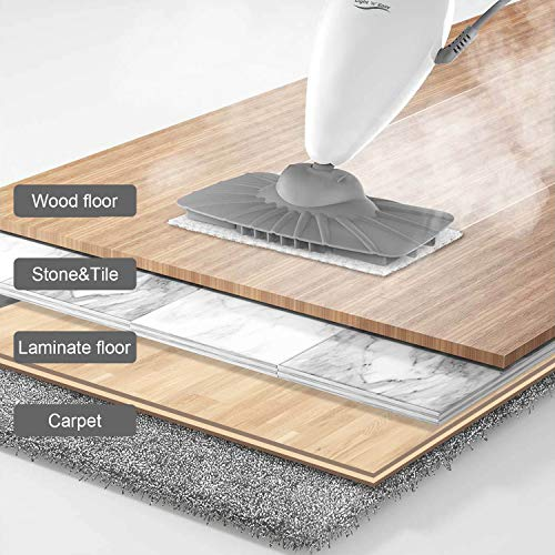Steam Mop,LIGHT 'N' EASY Floor Steamers for Hardwood and Tile,Lightweight Steam Mops for Laminate Floor,Carpet Steamer,Wood Floor Mop Steam Cleaners,S3101