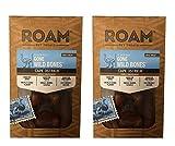 ROAM Pet Treats 6 Pack of Gone Wild Bones, Small, Cape Ostrich