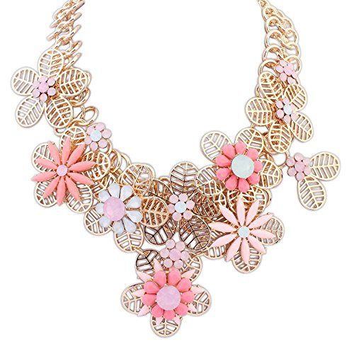 the-starry-night-elegant-statement-gold-plated-hollow-out-petal-splicing-joker-water-pink-flower-nec