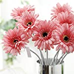Tcplyn-Durable-Artificial-Flower-Gerbera-10-PCS-Artificial-Silk-Gerbera-Daisy-Flower-Wedding-Party-Home-Bridal-Bouquet-Pink