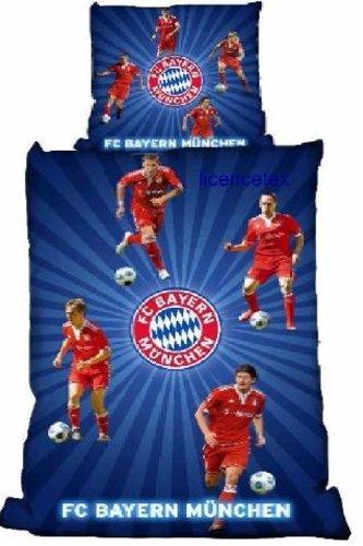Fc Bayern München Bettwäsche Biber Spieler 2010 Amazonde