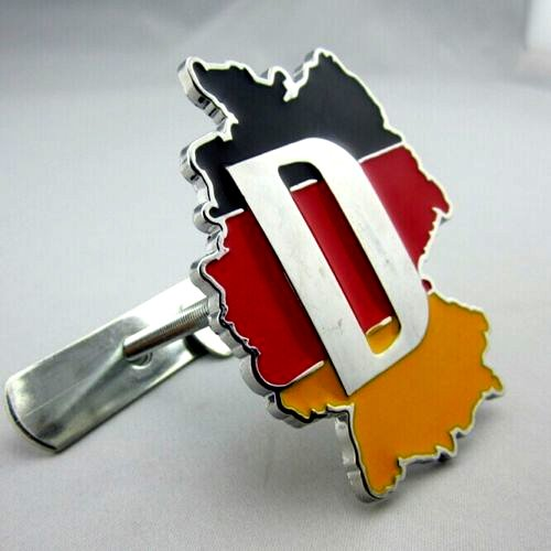 BENZEE B211 Car Styling Accessories Chromed Front Grill Grille Emblem Badge Decal D Germany Deutschland Map Country Flag Motorsports