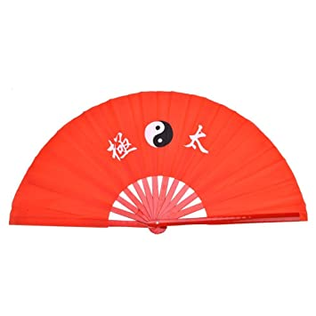 Chinese Tai Chi Fan, Lightweight Bamboo Silk Dance Practice