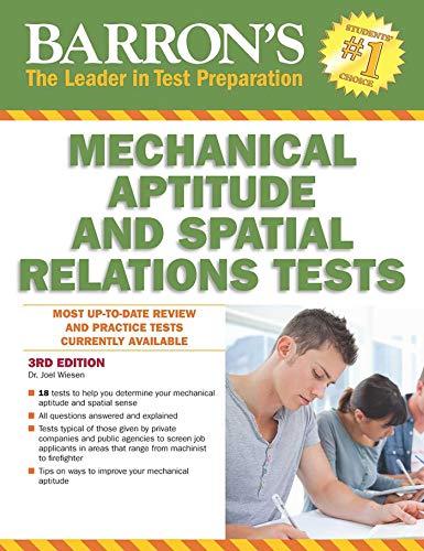 Pdf Test Preparation Barron's Mechanical Aptitude and Spatial Relations Test (Barron's Mechanical Aptitude & Spatial Relations Test)