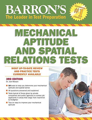 Mech Test - Barron's Mechanical Aptitude and Spatial Relations Test (Barron's Mechanical Aptitude & Spatial Relations Test)