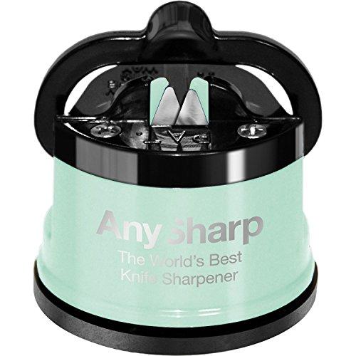 AnySharp Knife Sharpener Metal Pistachio