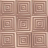 Metallic Square Wallpaper Copper / Rose Gold Muriva L44605
