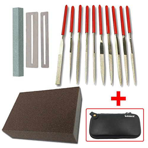 Flat Diamond Grit File Set product image