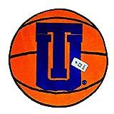 TU Hurricane Basketball 27'' Diameter Non-skid Doormat - Starter Rug
