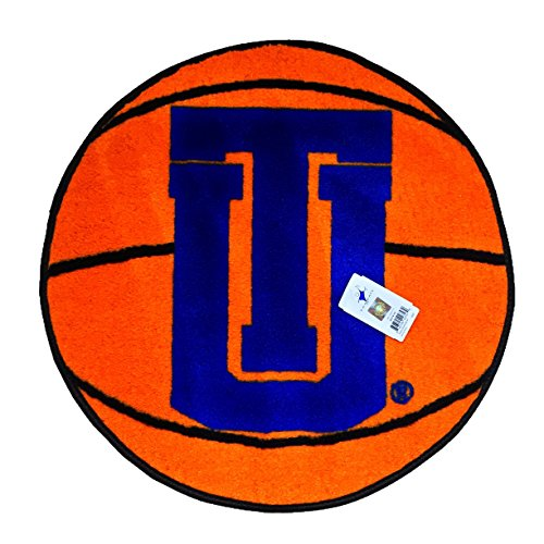 TU Hurricane Basketball 27'' Diameter Non-skid Doormat - Starter Rug by SUPERMAXX
