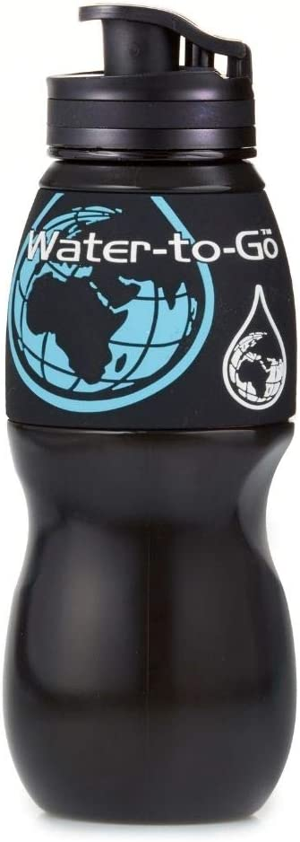 WATER TO GO 26oz Water Filtration and Purification Bottle